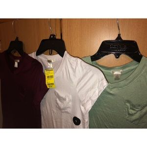 One pocket Tilly's shirts